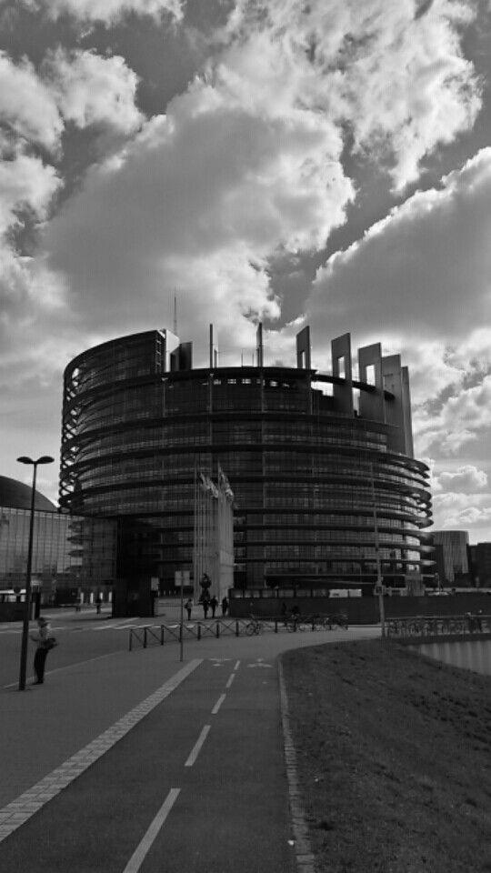European Parliament, Alleè du Printemps, Strasbourg,France
