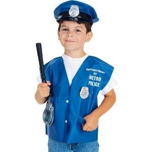 CHILD'S POLICEMAN HALLOWEEN COSTUME ACCESSORY KIT --- http://www.pinterest.com.mnn.co/3p