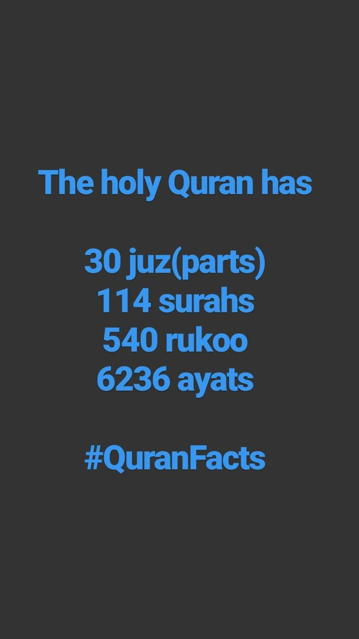 The holy Quran (al-Quran)
