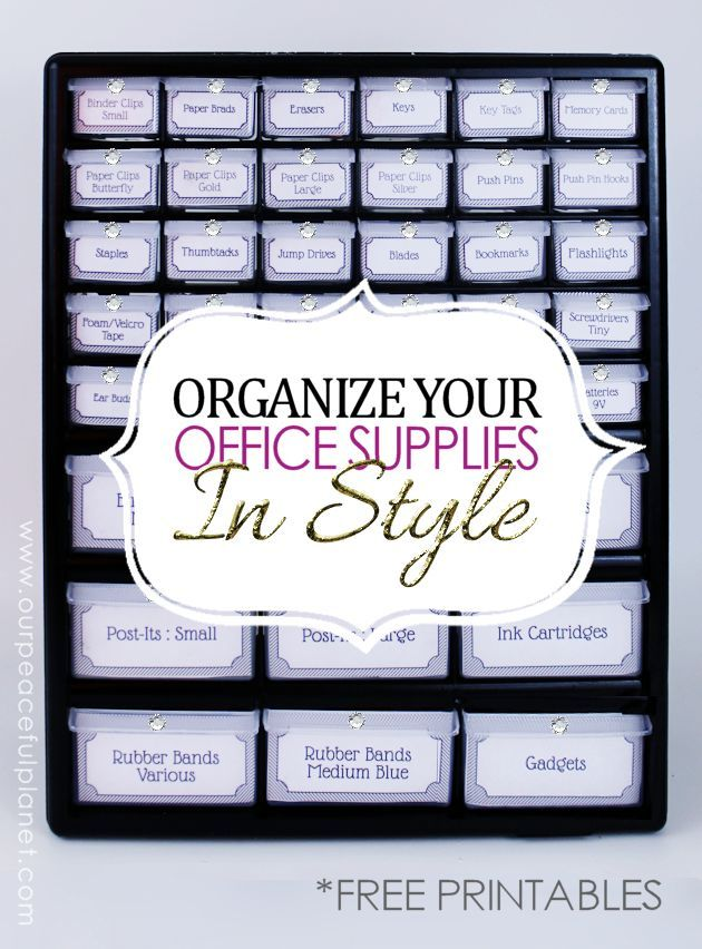 Organizing An Office best 20+ organize office supplies ideas on pinterest | craft