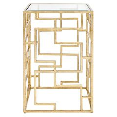 Worlds Away Furniture - brass coffee tables