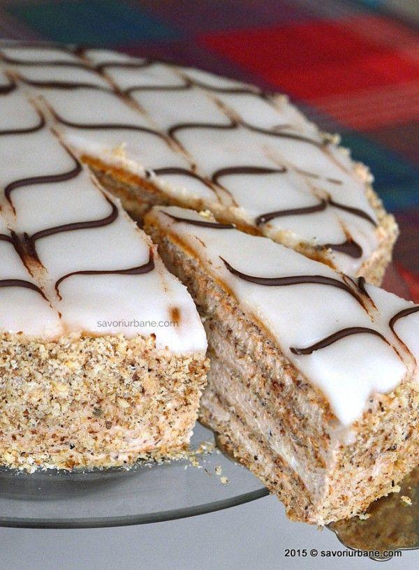 Tort Esterhazy reteta originala (2)                              …