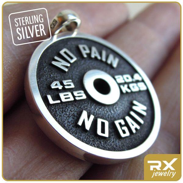Кулон диск от штанги : Кулон блин штанги Barbell Olympic Standard - Sport RX Jewelry - Спортивные ювелирные украшения