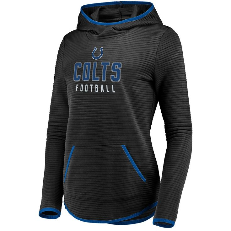 2fadcf03 Indianapolis Colts Women's Linear Hood Black Scuba Neck Hoodie M ...