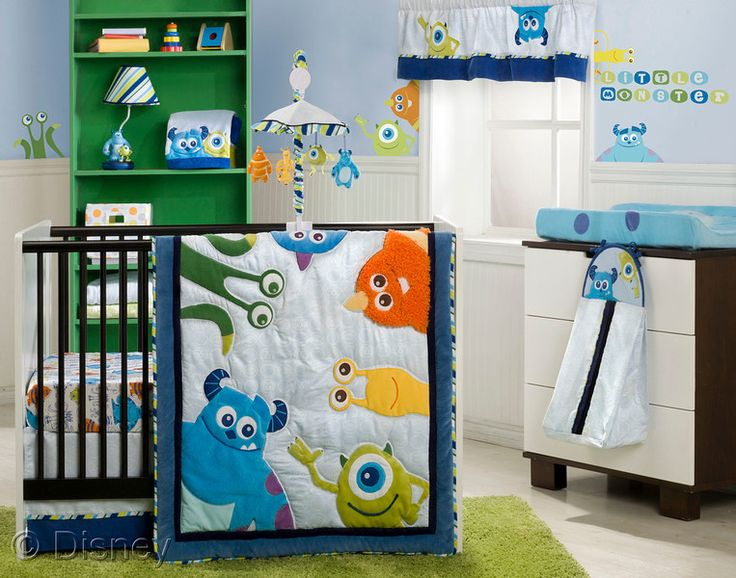 We think that this will be the nursery theme! :) Our little monster!