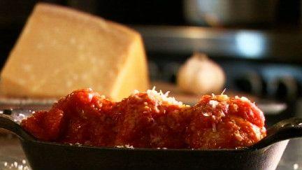 Polpette Marcovecchio / boulettes de veau et sauce tomate - Recettes - À la di Stasio