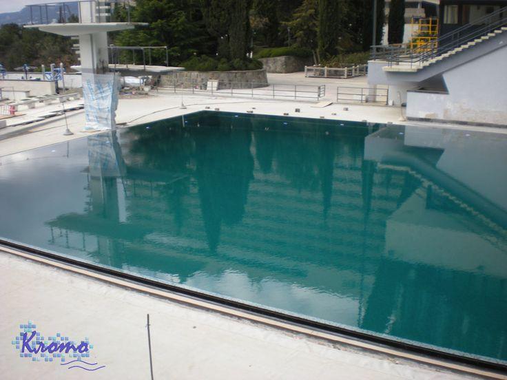 """Завершена реконструкция прыжкового бассейна в Отеле """"Ялта Интурист"""""""