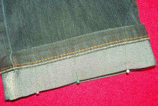 Fru Gecko: Att lägga upp jeans