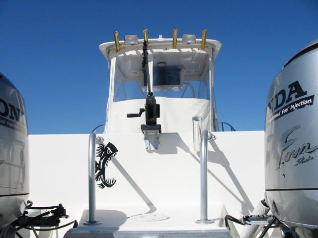 Downrigger on a V-Lock Universal Mounting System