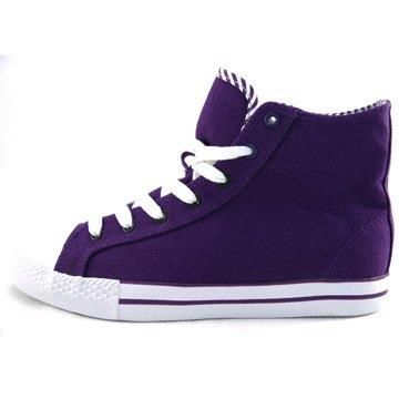 Фиолетовые кеды camelot