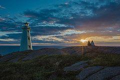 Sunrise at Cape Spear Lighthouse National Historic