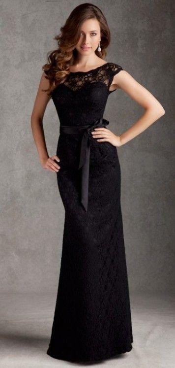 glamour lace bridesmaid dress        jaglady