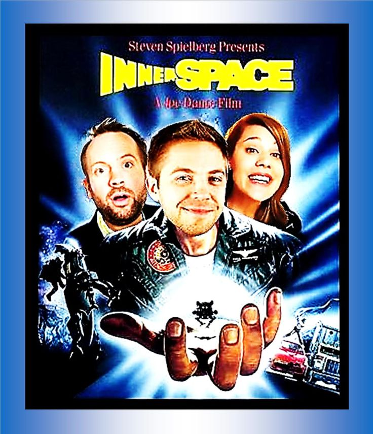 Innerspace, the Spielberg kind.