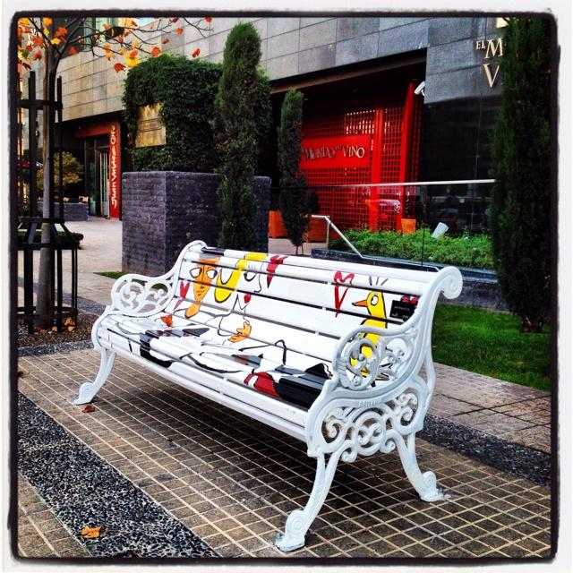 Street art. Santiago, Chile.