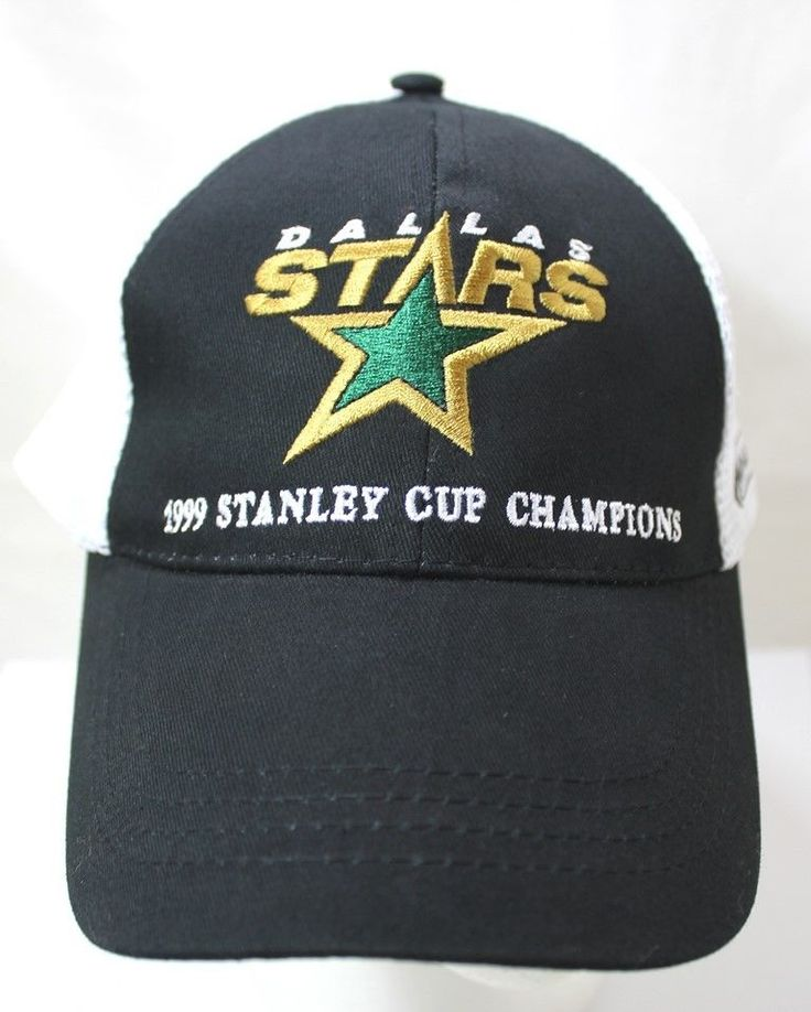 Dallas Stars 1999 Stanley Cup Champions Hat NHL Bud Light Snapback Trucker Hat | eBay