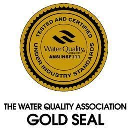 Eagle Water Treatment products carry the Gold Seal of approval.
