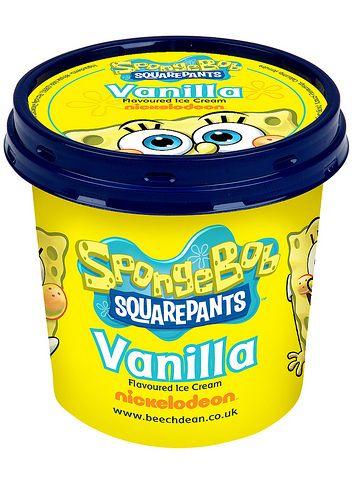 SpongeBob SquarePants Vanilla Ice Cream