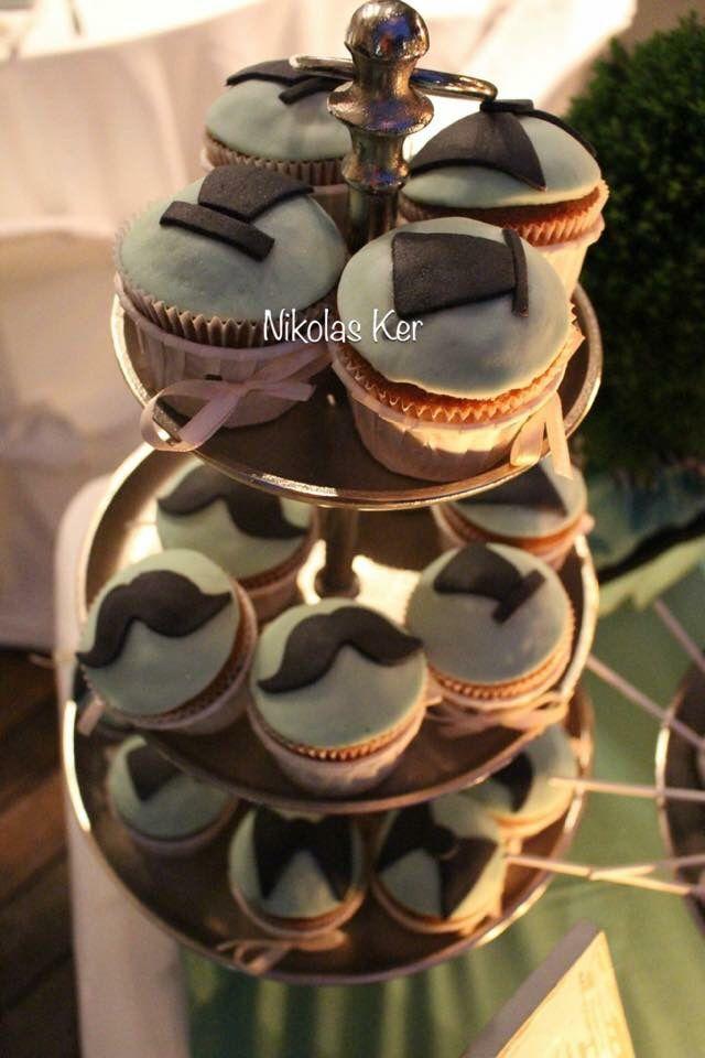 Cupcakes little man για τον μικρό Μάνο!