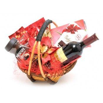 Darčekový kôš Red