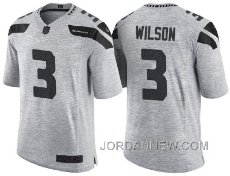 cheap for discount b37a3 3b486 women seattle seahawks 3 russell wilson gray stitched nfl ...