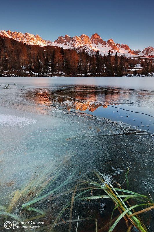 Alba Di Ghiaccio, Dolomiti / Frozen Dawn, Dolomites - Italy | par Enrico Grotto