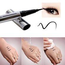 Nova Beleza Preto Waterproof Eyeliner Líquido Pen Eye Liner Lápis de Maquiagem Cosméticos Maquiagem Quente T1 alishoppbrasil