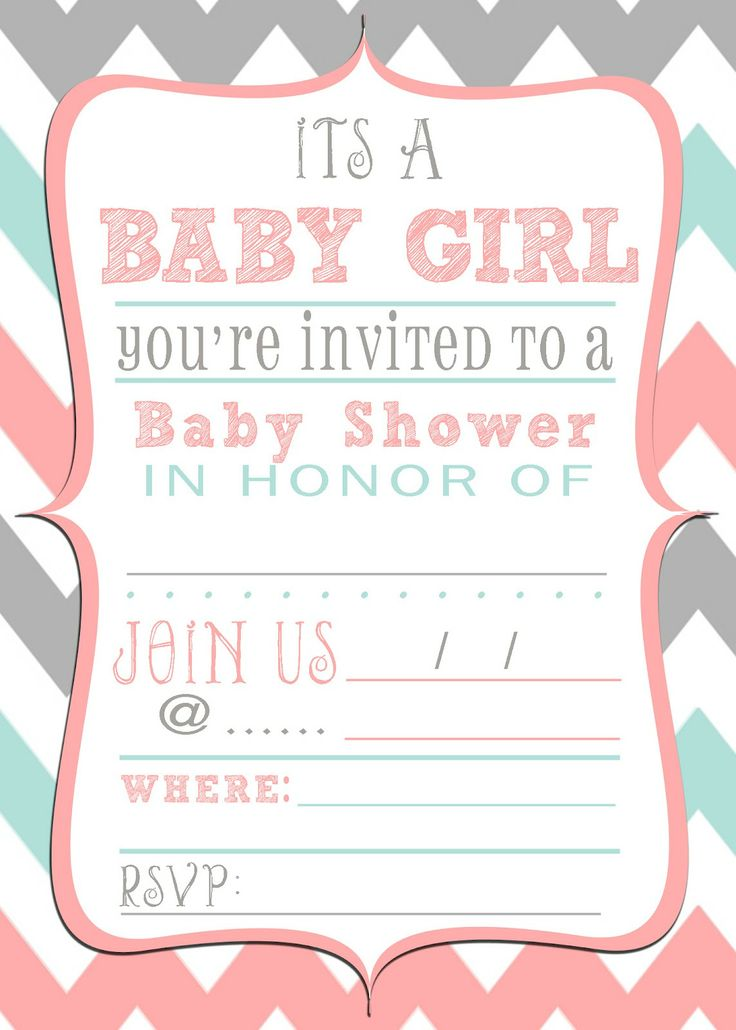 116 best Party Invitations images on Pinterest Invitations - baby shower flyer templates free