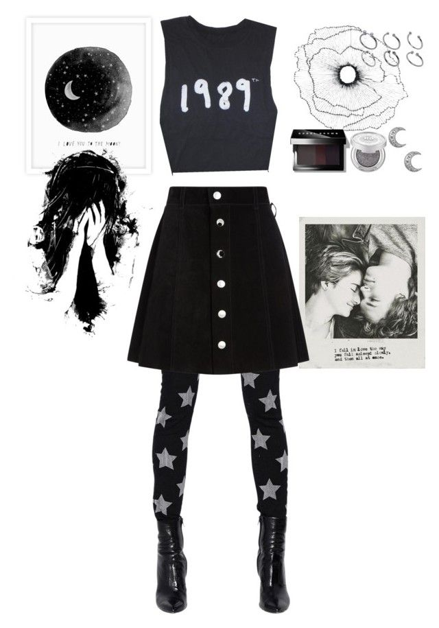"""""""Dreamscape."""" by futte22 on Polyvore featuring Yves Saint Laurent, Home Decorators Collection, ASOS, AG Adriano Goldschmied, Bobbi Brown Cosmetics and Urban Decay"""