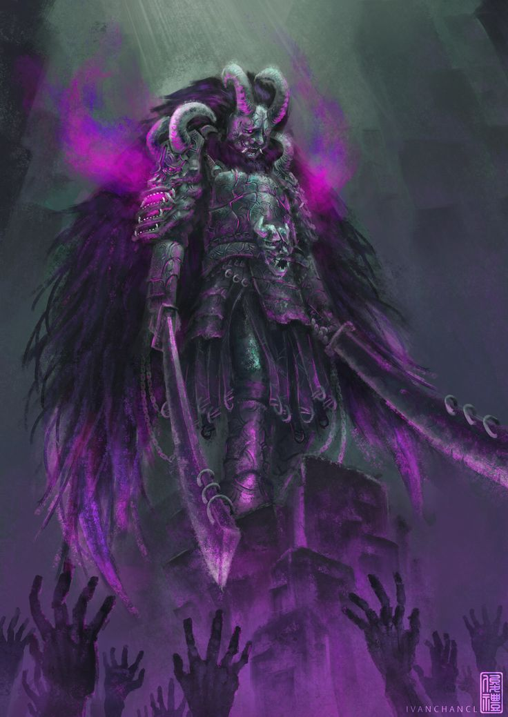Oni Demon, Ivan Chan on ArtStation at https://www.artstation.com/artwork/B9AaA