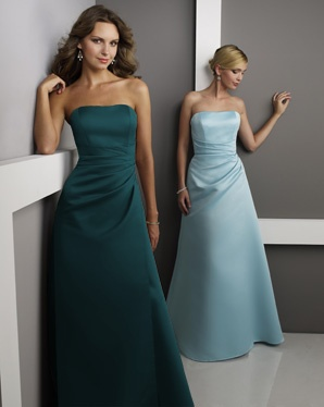 turquoise and tiffany blue bridesmaid dresses