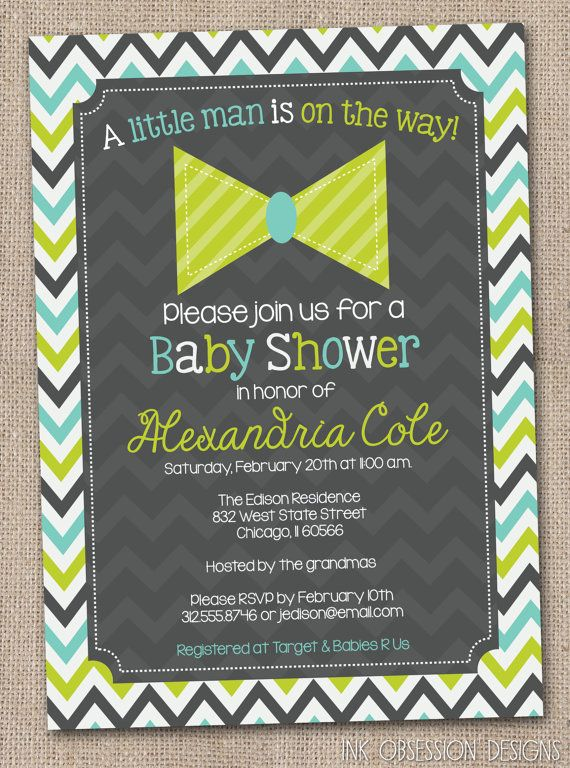little man bow tie baby shower invitation by inkobsessiondesigns 13