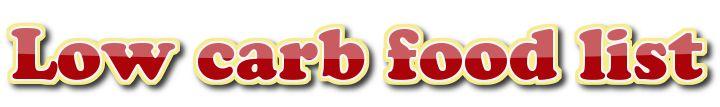 Ketogenic food list (low carb/keto/LCHF) – Low carb food list
