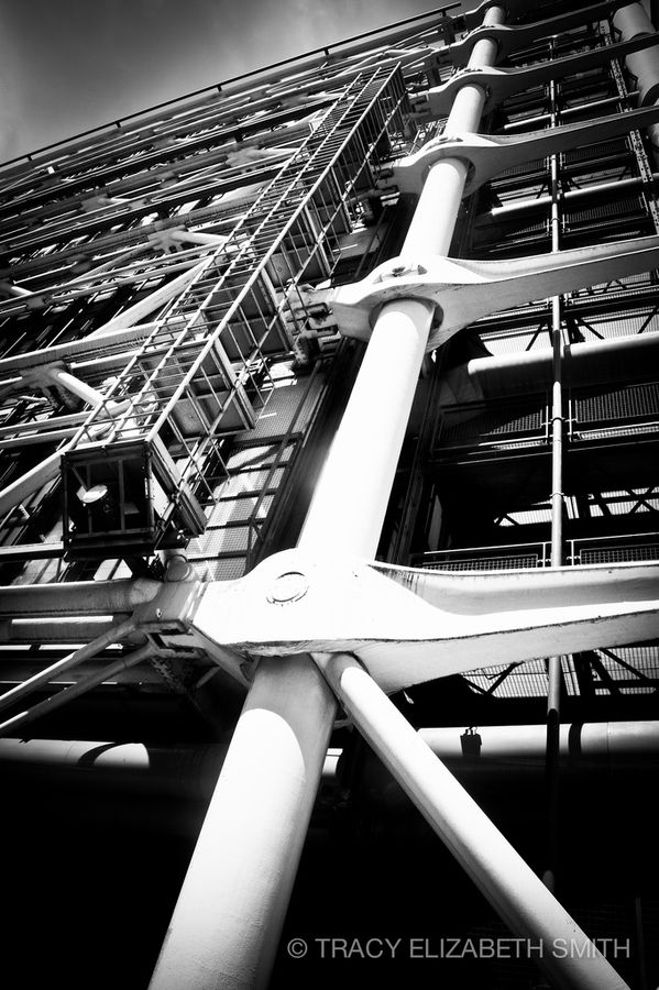 Gerberette - Pompidou Center - Paris - Renzo Piano, Richard Rogers