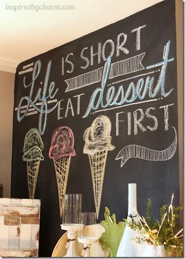 Eat first dessert