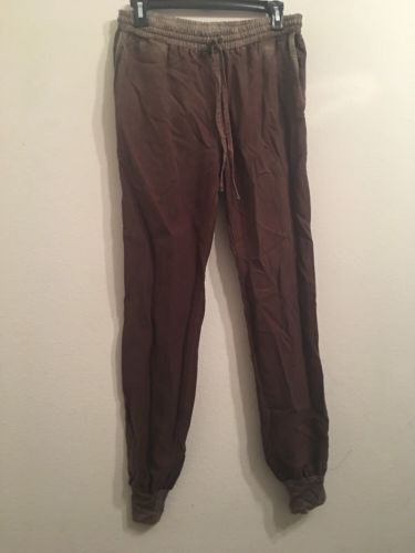 268.88$  Buy now - http://vicel.justgood.pw/vig/item.php?t=tk3smtk14846 - NWT $278 GEORGE LOVCS C23 Brown Jogger Pants Size Small 268.88$