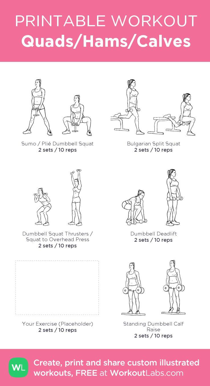 Quads hams calves leg workout for home placeholder is