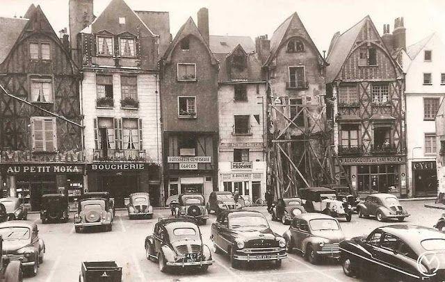 Amboise et Touraine - Balades...: Tours : la place Plumereau au fil du temps [1]