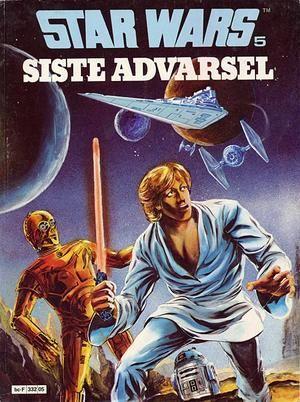 """Star Wars 5 Siste advarsel - Star Wars album 5"" av Archie Goodwin"