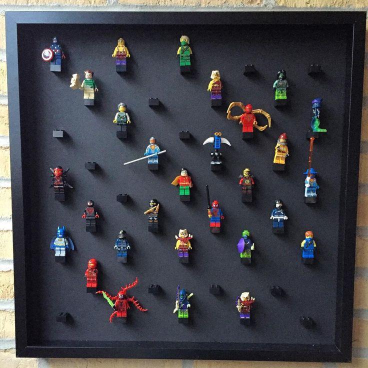 Et lille sjovt projekt til drengeværelset. Lige noget for den lille ordensmand #lego #diy #drengeværelse