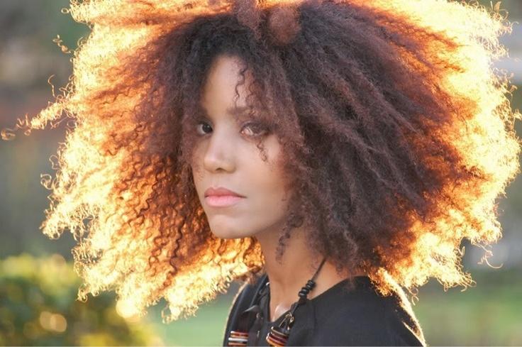 Moroccan Summer Curly hair inspiration, Natural hair