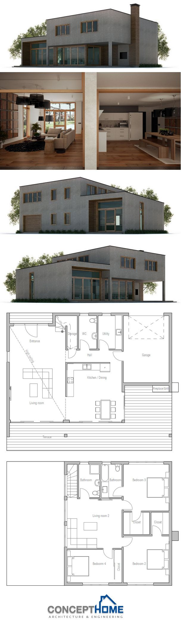 31 best Two family house plans images