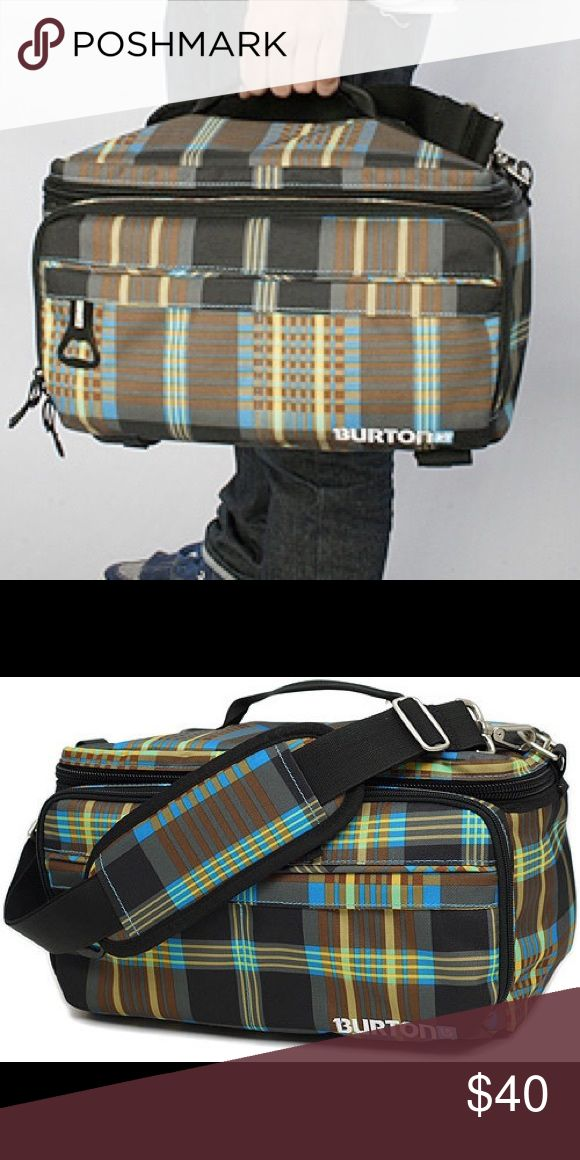 BURTON PIC NIC COOLER! BURTON PIC NIC COOLER! Keep your drinks and snacks insulated! More photos to come with dimensions! Burton Bags Shoulder Bags