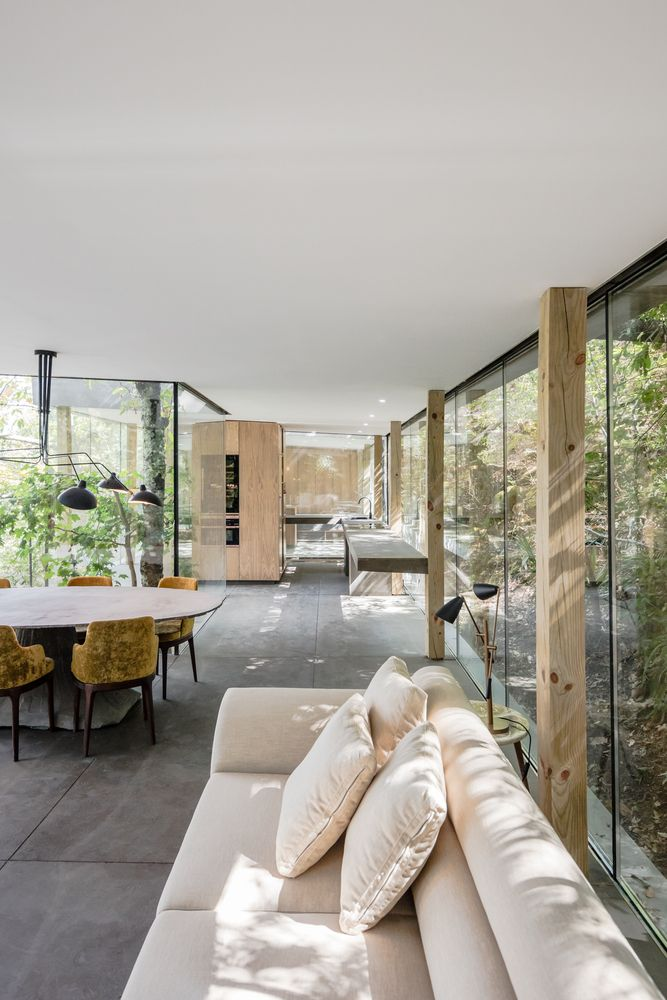 Gallery Of Cloakedhouse 3r Ernesto Pereira 3 In 2018 Interior - Interiores-casas-de-campo