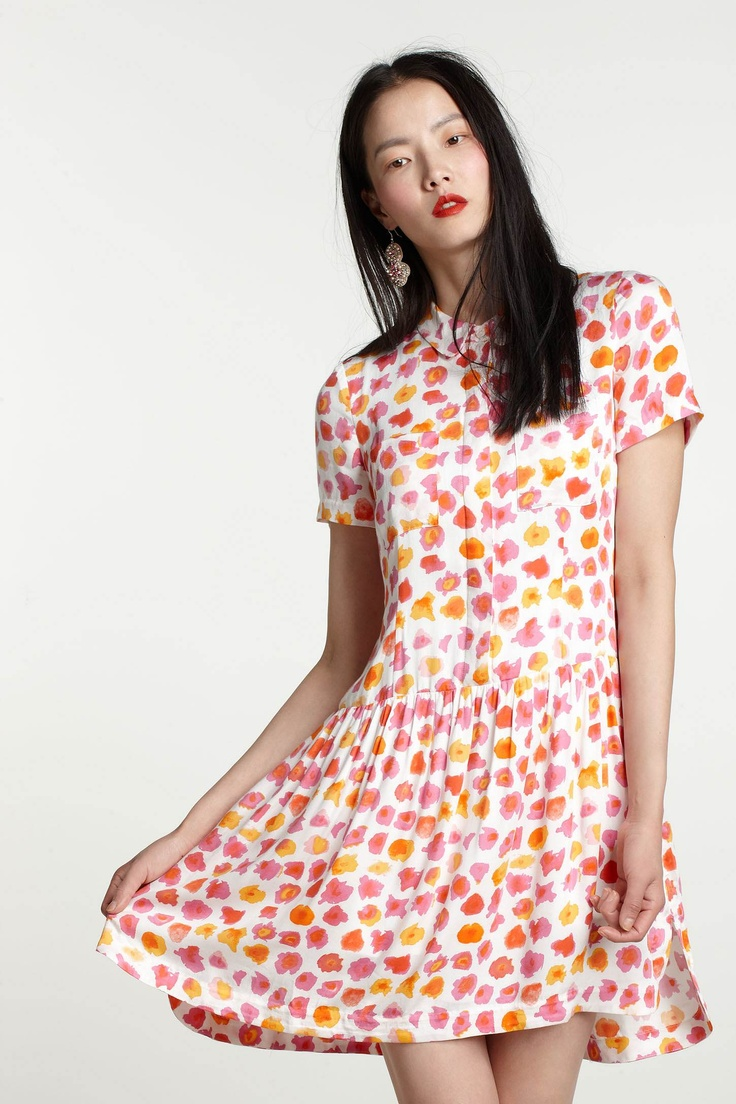 Adorable shirtdress from Anthropologie