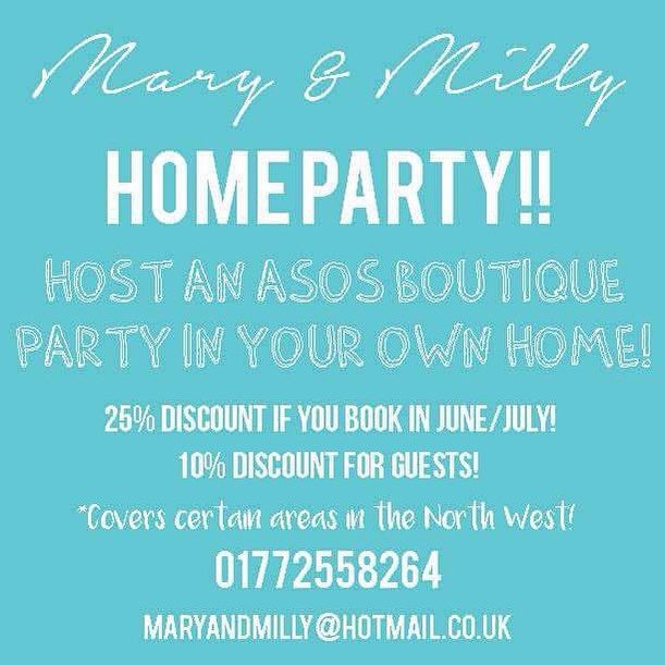 Have something fashionable & fun to look forward to & book an M&M home party today!! Get amazing discounts for yourself & your guests if you book this month! Don't miss out! M&M x