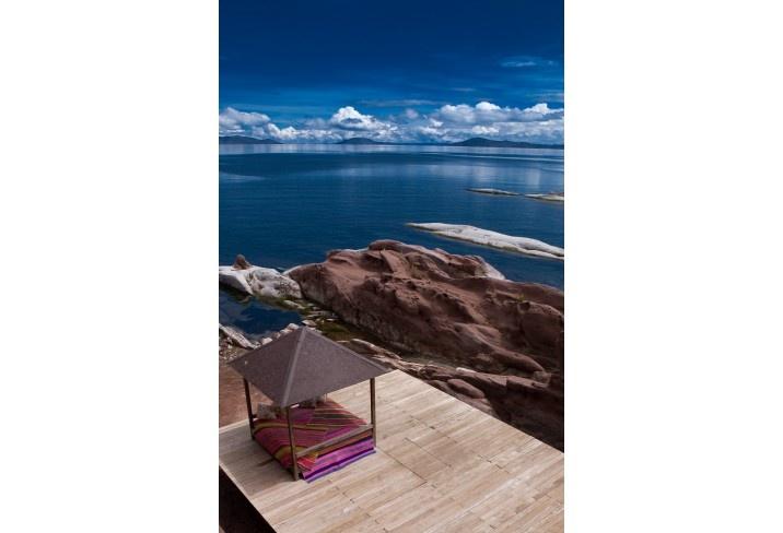 Titilaka hotel on Lake Titicaca, Peru