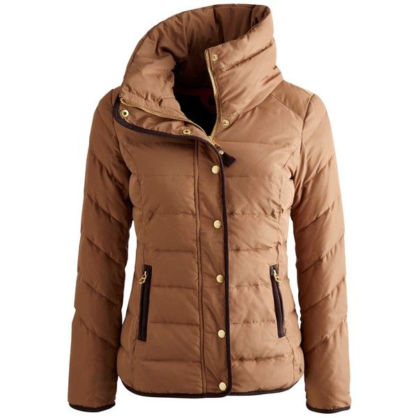 See this and similar Joules jackets - Beat the chill in this warm padded jacket, a perfect companion for blustery days. A concealed hood is hidden inside a neck...