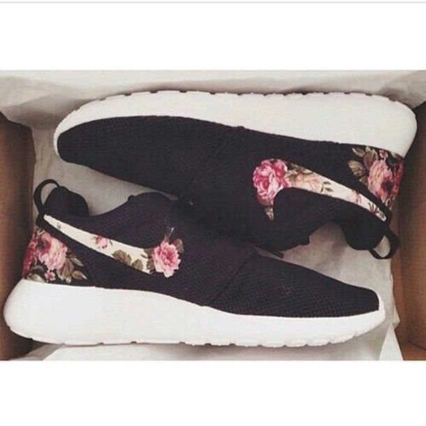 best website d18a4 12dfd Nike Flowers Shoes  I love shoes!  Pinterest  Nike shoes cheap, Running shoes  nike and Shoes