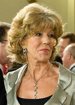 Sue Nicholls - Audrey Roberts. 36 years 7 months with longest continuous duration of 31 years 4 months.