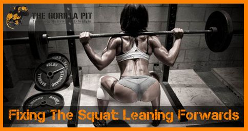 One of the most common problems with squatting form is leaning forward too much when coming out of the bottom position.